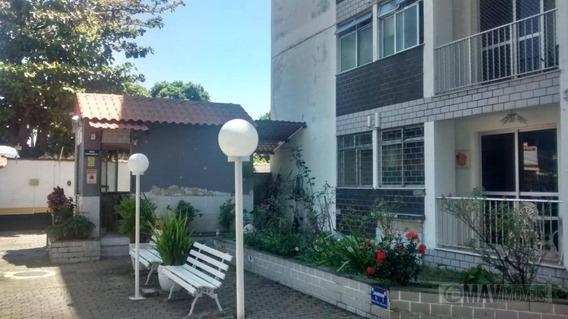 Apartamento Com 2 Dormitórios À Venda, 53 M² Por R$ 200.000 - Praça Seca - Rio De Janeiro/rj - Ap0416