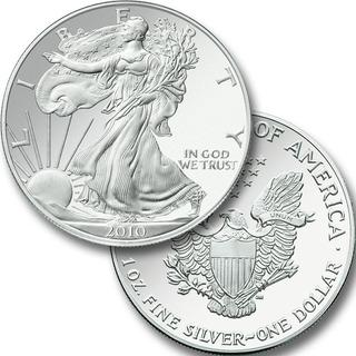 Moneda De Plata Americana Àguila Eagle