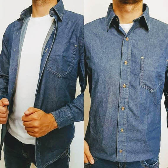 Camisa Jeans Hering