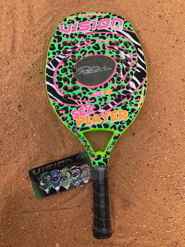 Imagen 1 de 1 de Raqueta De Beach Tennis Vision Sex Player 2020