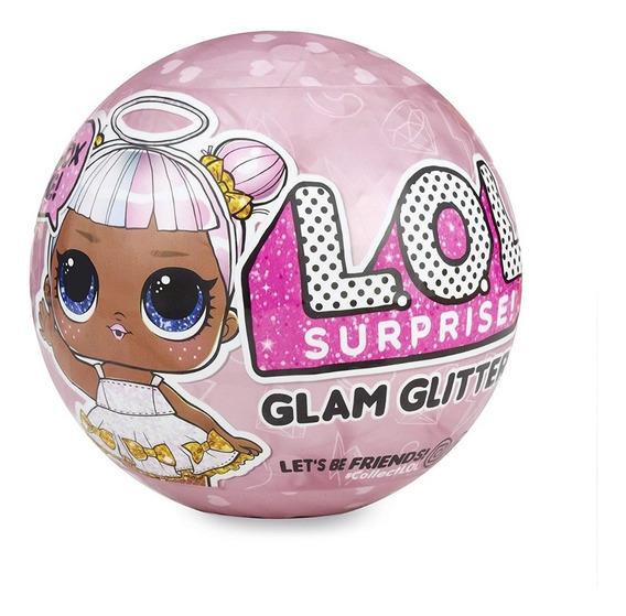 Muñeca L.o.l. Surprise Glam Glitter Series Con 7 Sorpresas
