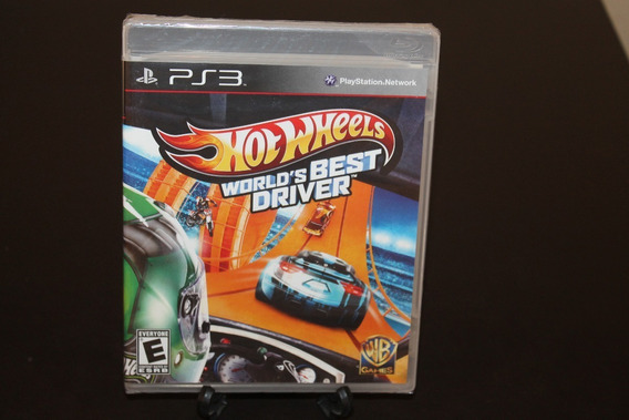 Jogo Hot Wheels - World´s Best Driver (novo) Ps3