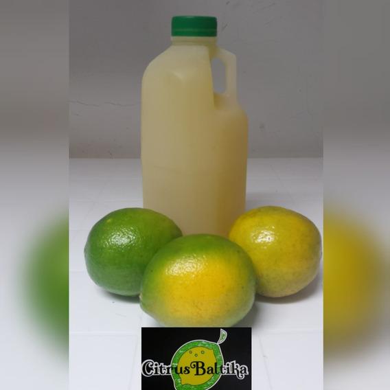 Vendo Zumo De Limón 100% Natural, 2 Litros