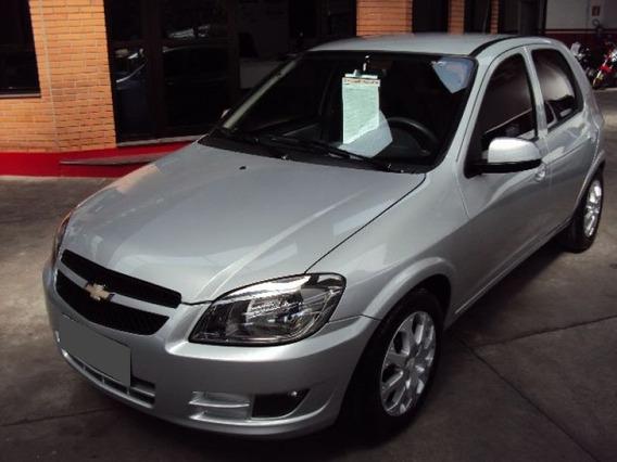Chevrolet Celta 1.0 Mpfi Lt 8v Flex 2013 Prata.