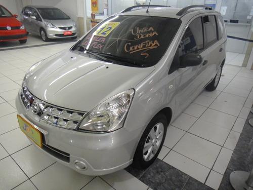 Nissan Livina S 1.6 16v Flex Completo Rodas 2012 Prata