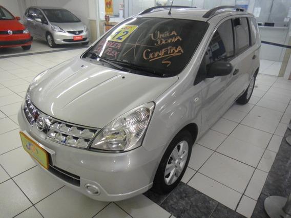 Nissan Livina 1.6 Nigh$day Flex Couro Rodas Completo 2011