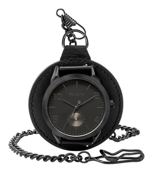 Relógio Touch Unissex Tiozão Preto