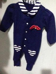 Roupa De Bebê Azul
