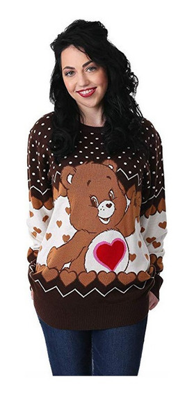 Suéter Feo Navidad Ugly Sweater Osito Cariñosito Care Bear