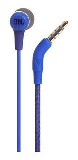 Fone Ouvido Intrauricular Jbl E15 Azul Original
