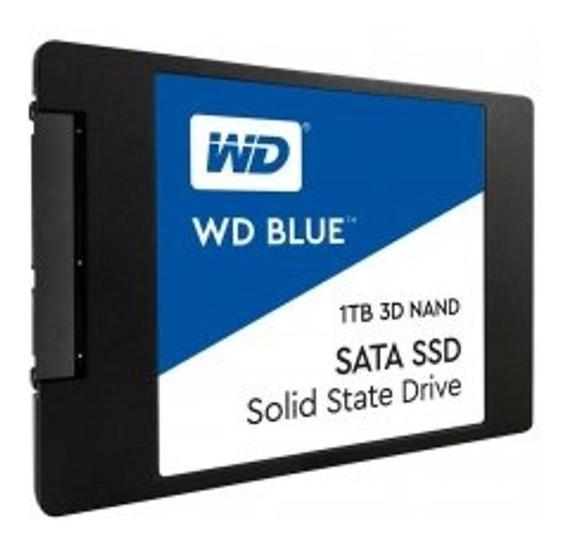 Ssd Wd Blue 1tb 2,5 7mm Sata 3 3d Nand - Wds100t2b0a