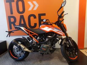 Motocicleta Ktm Duke 250 2018 0km Naranja