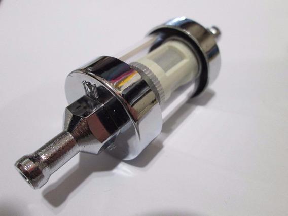 Filtro Combustivel Mini Transparente Vidro Lavavel 6mm At105