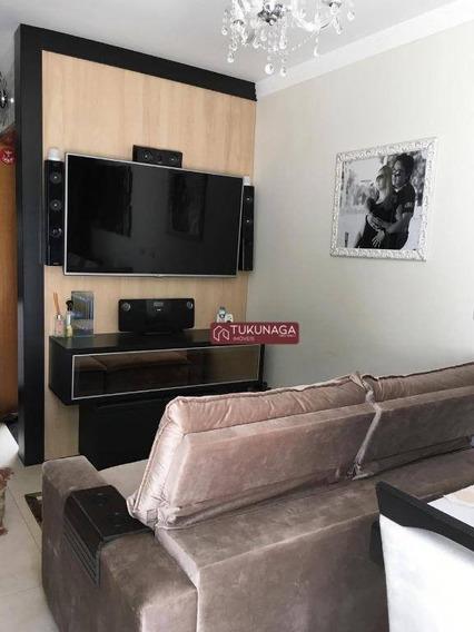 Sobrado Em Cond Fechado Com 2 Dormitórios À Venda, 57 M² Por R$ 390.000 - Parque Mandaqui - São Paulo/sp - So0534
