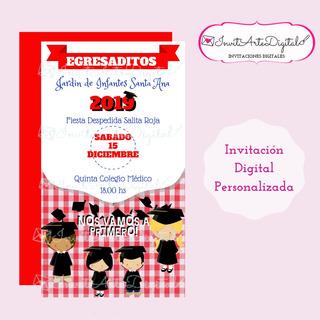 Tarjetas De Invitacion Para Graduacion En Mercado Libre