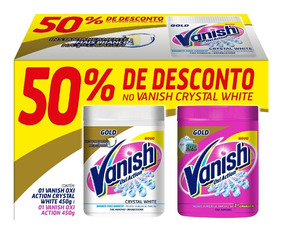 Vanish Oxi Action 450g Pink + 50% Off No Crystal White