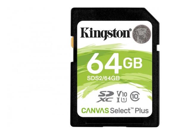 Memoria Kingston Sdxc Canvas Select Plus 64gb Uhs-i Clase 10