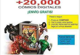 Coleccion Marvel Dc Comic +20000 Revistas Digitales+200 Gb