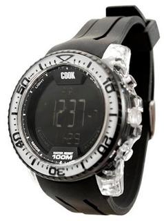 Reloj Hombre John L Cook Sumergible Digital