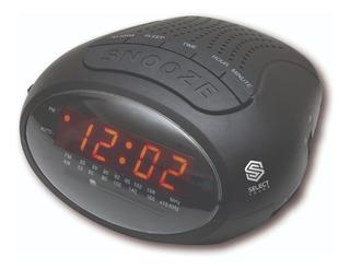 Radio Reloj Select Sound Despertador Am/fm Entrada Auxiliar