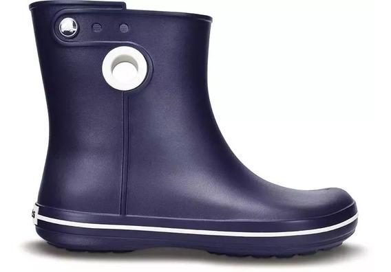Crocs Bota De Lluvia Mujer Azul Roomy Fit