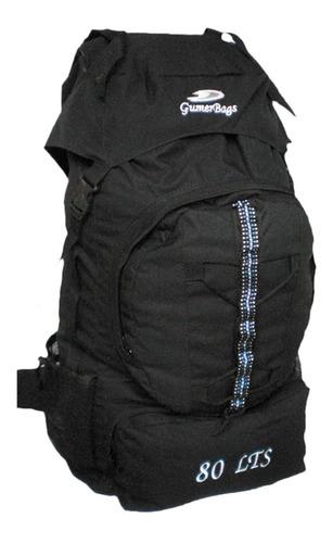 Morral Camping Bags 80 A 90 Litros Maleta 2 Años Garantía