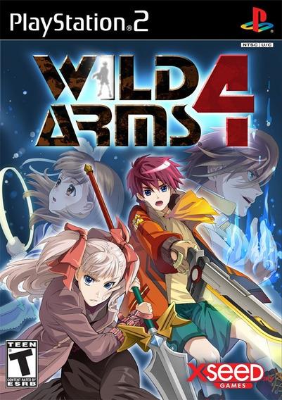 Jogo Wild Arms 4 Ps2
