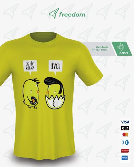 Camiseta Cê Ovi Rock