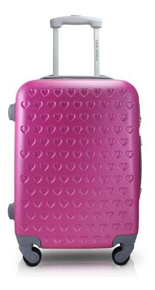 Mala Viagem De Bordo Love Rose Roda 360 Jackie Design