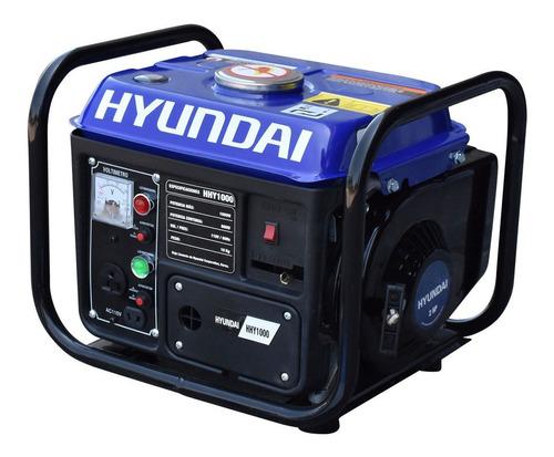 Imagen 1 de 3 de Generador portátil Hyundai HHY1000 1000W monofásico 110V
