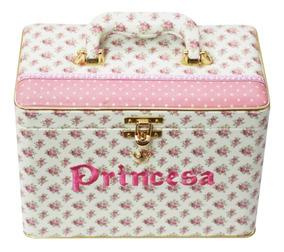 Álbum Box Luxo Princesa Menina Flor Rosa 600 Fotos 10x15
