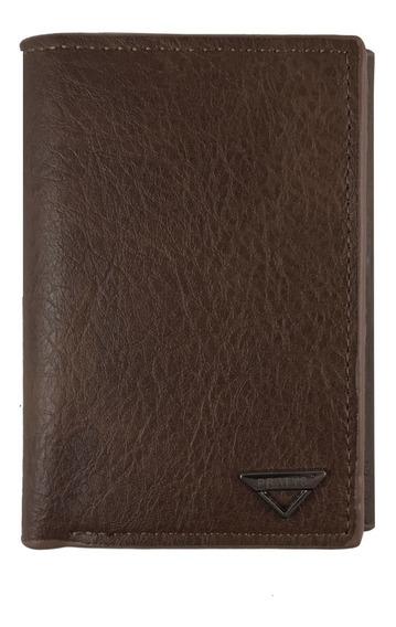 Billetera Hombre Tarjetero Pocket Cuero Pu Cy989