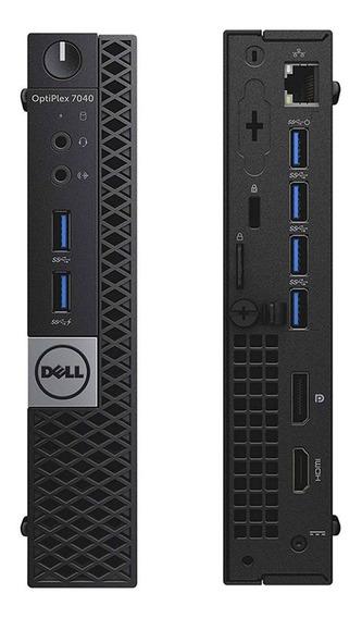 Cpu Mini Dell Optiplex 7040 Core I5 8gb Ddr4 Hd 500gb