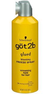 Spray Schwarzkopf Got2b Glued Blasting Freeze De 12 Onzas