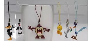 Chaveiro - Pingente Looney Tunes - Kit Com 6 Miniaturas