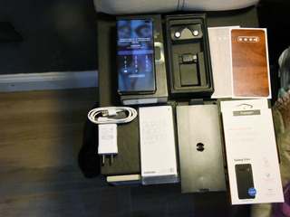 Samsung Galaxy S10 Plus Completo + Extras