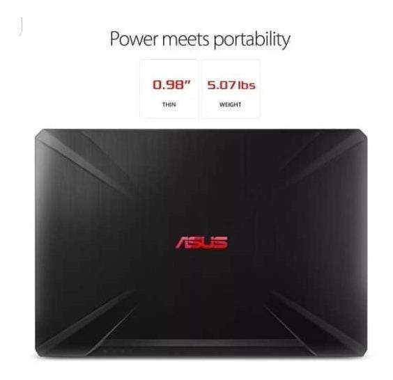Laptop Asus Fx504 I7 8gb Gtx 1050ti 4gb 256gb Ssd