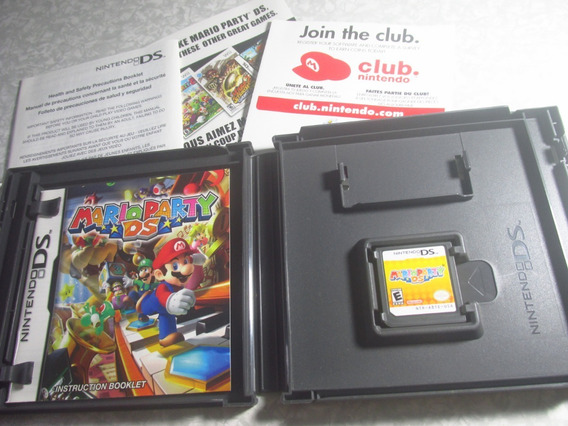 Nintendo Ds - Mario Party Ds - Original Americano