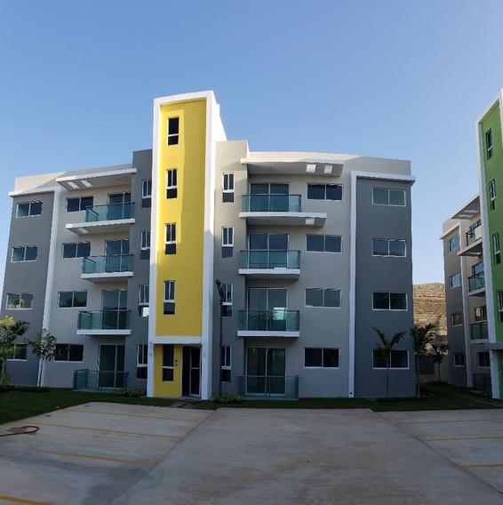 Apartamento En Planos En Res. Con Piscina Y Gimnasio Wpa88 E
