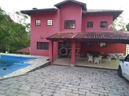 Chácara Com 3 Dormitórios À Venda, 240 M² Por R$ 645.000 - Jardim Aliança - Campinas/sp - Ch0174