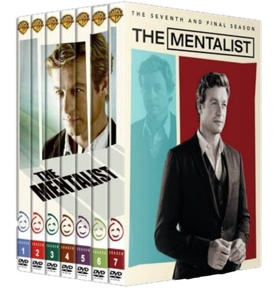 Box The Mentalist 1ª A 7ª Temporada Dublado - 34 Discos