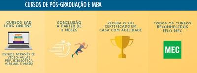 Cursos De Graduação E Pós-graduação Ead 100% Online
