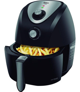 Fritadeira Elétrica Philco Air Fry 1400w 3,2 Litros Sem Óleo