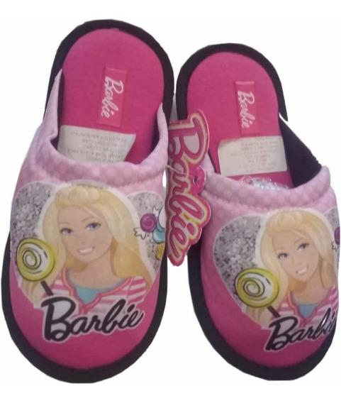 Pantuflas Barbie Originales Footy