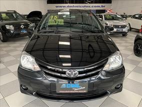 Toyota Etios Toyota Etios Sedan X 1.5 2015 Preto - Dml Veícu