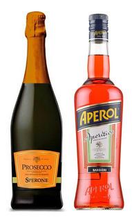 Combo Spritz Aperol + Prosecco Doc Sperone X750 Cc