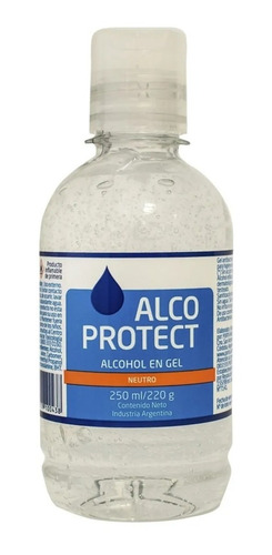 Alcohol En Gel  Alco Protect X 250ml