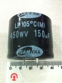 Capacitor 150mf X450v 105 Graus Kit C/50pçs