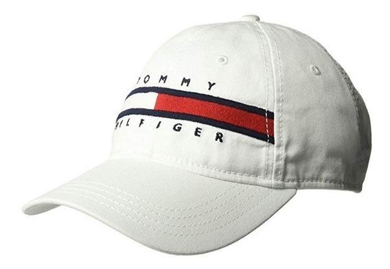 Gorra Original Tommy Hilfiger Importada Blanca 6941821 100