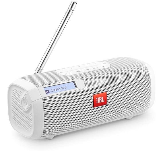 Caixa De Som Portátil Jbl Tuner Fm Bluetooth - Branco C/n. F